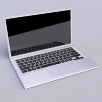 laptop 3d obj
