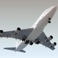 boeing 747-200 plane generic 3d max