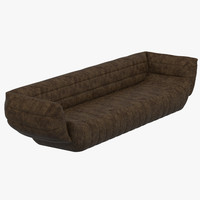 baxter tactile sofa 3d model