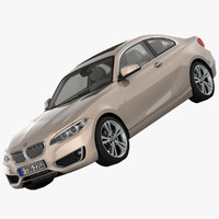 3d 3ds bmw 2 series f22