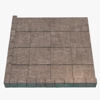 modular floor fbx