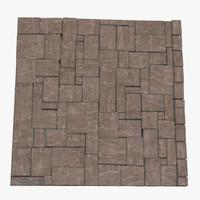 modular floor 3d model