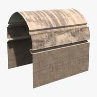 dungeon modular vault 3d ma