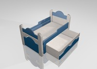 cinema4d children bed