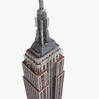 3dsmax empire state building