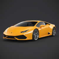 lamborghini huracan lp610-4 2015 3d model