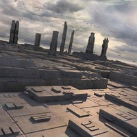 Sci-Fi City Futuristic Buildings