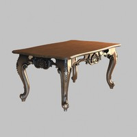 3d table decorated