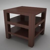 3d model coffe table