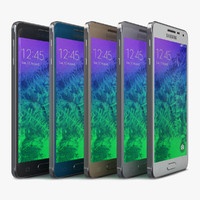 samsung galaxy alpha color 3d max