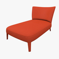 chaise lounge febo maxalto 3d model