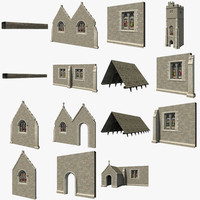video church 3d model