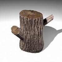 3d log