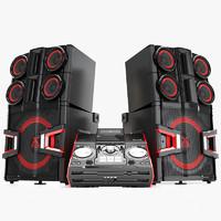 LG CM 9940 X Boom Pro