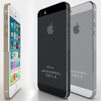 3d model apple phone iphone
