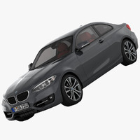 bmw 2 series f22 3d 3ds