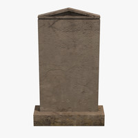 3dsmax grave gravestone