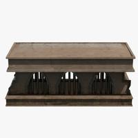 3d model casket