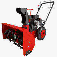 3ds max snow blower power