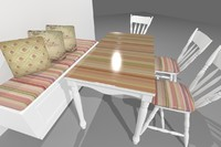 Modern CoffeShop Table
