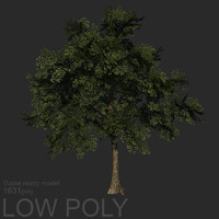 Tree low poly 02
