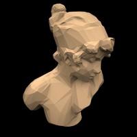 statue games 3d model