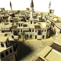 3ds max village iraq