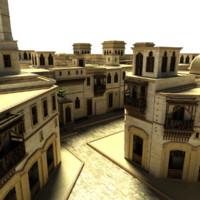 3d model village iraq