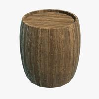barrel 3d x