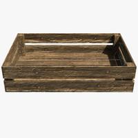 3d crate box
