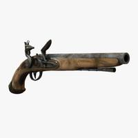 3dsmax pistol ready