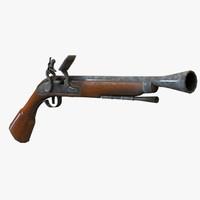 pistol ready 3d x