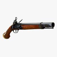 3d 1 pistol model