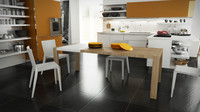 calligaris modern 160 cm 3d model