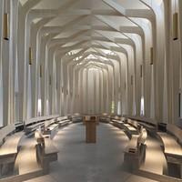 3d model bishop chapel