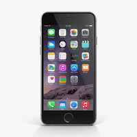 apple iphone 6 space 3d max