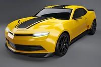 Chevrolet Camaro 2014 concept Bumblebee