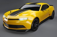 3d chevrolet camaro 2014 concept model