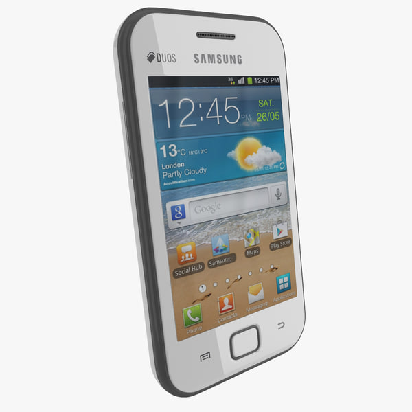Samsung Galaxy Ace Duos smart smartphone mobil mobile cell touchscreen screen vray phone cellular telephone