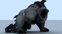3d beast animations