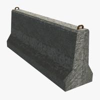 modular barriers 3d ma