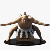 3ds max sumo sculpture