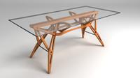 3d obj reale table