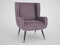dolly baxter armchair 3d model