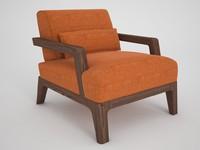 ottoman poltrona armchair max