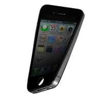 3d model flexible iphone 4s