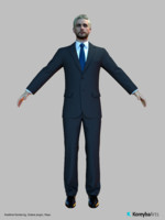 man characters realtime color max