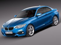 3d model 2015 coupe bmw