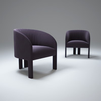 3d contemporary-bridge-armchair