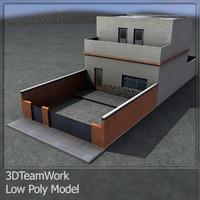 3d 3ds building 001